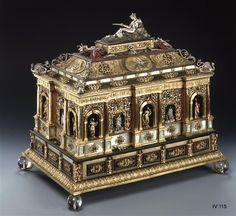 Große Prunkkassette der Kurfürstin Sophia by  Jamnitzer, Wenzel (1508-1585)| Jeweller & Jamnitzer, Wenzel (1508-1585) Nürnberg, made 1588