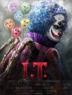 IT Movie Poster - Pennywise remake  FINAL RESULTS Haywire1 Valence3 CherryGraphics2 microscopi4 SchizophreniaWolf Susie1981  Congratulations to microscopi for...                                                                                                                                                     Mais