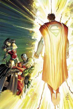 Superman #40 VARIANT - JOHN ROMITA JR.