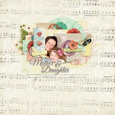 My Mother, My Friend - Jady Day Studio, Ju Kneipp and Sugarplum Paperie Cherry Berry - Little Green Frog Designs