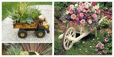 20 Ideas para decorar el jardín con cosas recicladas El día de hoy te traemos un articulo dedicado a la decoración del jardín. Si tienes tu jardín un poco abandonado, estas aburrida de el y quieres darle otro aire, pero no se ocurren ideas, quédate hasta el final de este articulo, seguro algunas de estas …