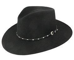 ab9a0eb6984cf Product review for Stetson Men s 4X Diamond Jim Fur Felt Cowboy Hat –  Sfdiag-163907 Black – Caps   Hats for Everyone