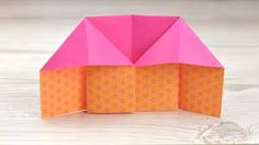 How to Make an Origami House: 8 Steps (with Pictures) - wikiHow Triangle Shape, Origami Paper, All You Need Is, Recherche Google, House, Disorders, Favorite Color, How To Make, Pictures