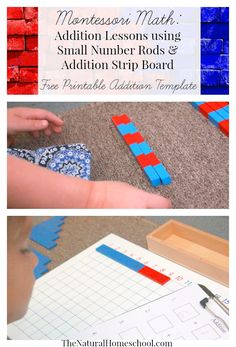 In this post, we will show you two addition lessons: one using the Small Number Rods and one lesson using the Addition Strip Board. Don't forget to get yo