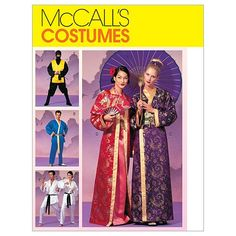 McCall's Patterns M2940 Misses', Men's and Teen Boys' Robe Costumes, Size Y (SML-MED) McCall's Patterns