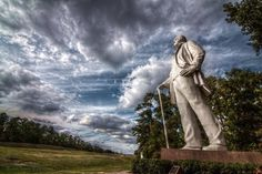Sam Houston outside of Huntsville.