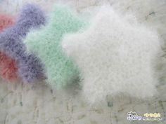 아이네스의 아기별 수세미 도안 안내 안녕하세요. 아이네스입니다.^^ 아기별 수세미 함께뜨기 신청하신 분... Crochet Potholders, Knit Crochet, Diy And Crafts, Arts And Crafts, Washing Clothes, Hand Knitting, Embroidery, Pattern, Kitchen