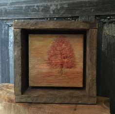 Fall Home Decor, Hand Engraved, Rustic Art, Primitive Wall Art, Mantle Shelf Decor, Autumn, Cabin, Gift, Office, Lodge, Orange Yellow