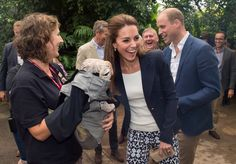Kate et William au naturel                              …