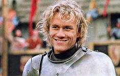 A man can change his stars. I won't spend the rest of my life as nothing. Heath Ledger as William Thatcher in A Knight's Tale dir. Beautiful Boys, Pretty Boys, Cute Boys, Beautiful People, Heath Ledger Joker, Heath Ledger Quotes, A Knight's Tale, Celebrity Crush, Pretty People
