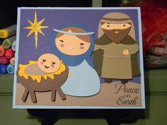 Winter Frolic - nativity baby Jesus, Mary, and Joseph
