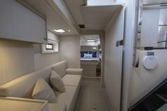 Owner cabin lounge area