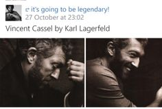 Vincent Cassel, Karl Lagerfeld, Fictional Characters, Fantasy Characters