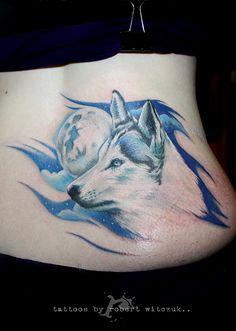 Wolf Tattoos by Robert Witczuk