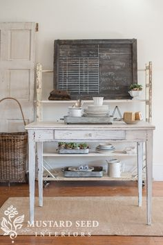 Farmhouse White is here | Miss Mustard Seeds Milk PaintMiss Mustard Seeds Milk Paint