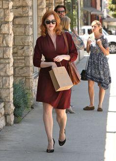 Christina Hendricks in LA   Tom & Lorenzo Fabulous & Opinionated