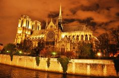 Notre Dame Cathedral - Paris, France ( construction began in the 1100s)