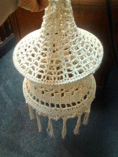 Expoarteartesanias-Grisel Sanguinetti: Lámparas en Crochet