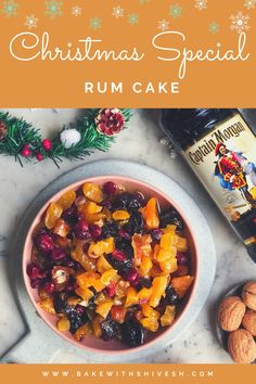 Mug Recipes, Sweet Recipes, Cake Recipes, Cooking Recipes, Rum Cake For Christmas, Christmas Baking, Eggless Pudding Recipe, Pudding Recipes