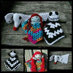 Crochet nightmare before Christmas