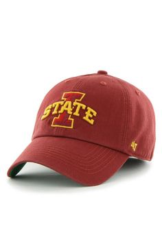 47 Iowa State Cyclones Mens Cardinal `47 Franchise Fitted Hat bc2f508493ab