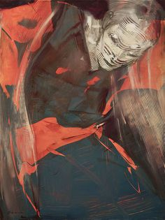 Rick Berry's Expressive Paintings of Figures in Motion | Hi-Fructose Magazine