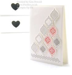 Stampin Up Mosaic Madness Quick Card