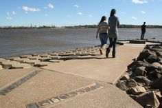 Confluence State Park is at the point where the nation's two great rivers merge.