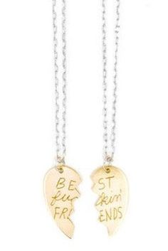 Bust Fuckin' Friends Necklaces | 38 Perfect Pieces Of Jewelry To Share With Your Best Friend