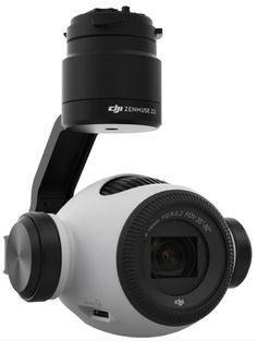Zenmuse Z3 Gimbal and Camera. First Aerial Camera from DJI with Zoom.