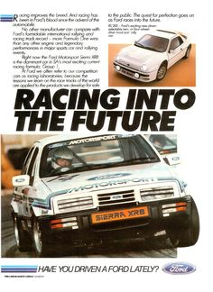 New Drivers, Car And Driver, Sport Cars, Race Cars, Car Advertising, Ads, Mid Size Car, Ford Sierra, Ford Capri