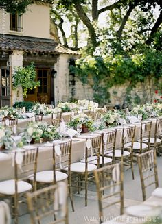 Wedding Flowers: Waterlily Pond Floral and Event Design   Wedding Ceremony and Reception Venue: Holman Ranch Wedding Planner: Allison Weddings  Wedding Photographer: Tanja Lippert Photography