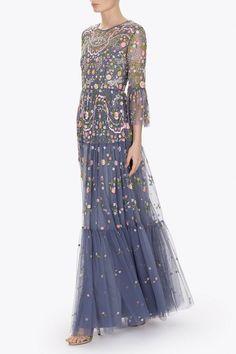 DRAGONFLY GARDEN MAXI DRESS | Needle & Thread