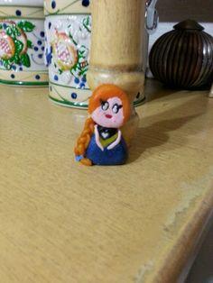 Le mie creazioni con il fimo / pasta modellabile      3/8 . Anna di Frozen
