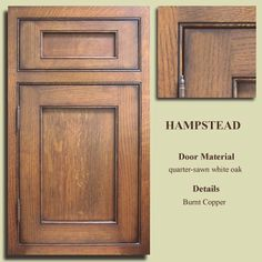 Hampered door style crystal cabinets