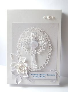 Gosia rationed World Communion color and white First Communion Cards, First Communion Invitations, First Holy Communion, Confirmation Cards, Baptism Cards, Baby Cards, Kids Cards, Beautiful Handmade Cards, Sympathy Cards