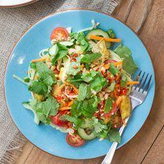 Lemongrass Chicken Noodle Salad