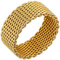 "Dreambase Damen-Ring ""Milanaise"" vergoldet Silber 50 (15.... https://www.amazon.de/dp/B01IO7GC6Q/?m=A37R2BYHN7XPNV"