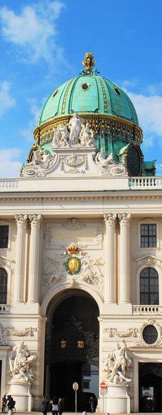 Hofburg Palace -Dome- in Vienna | Austria