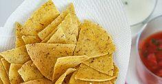 Tortilla chips di farina di mais gialla | Zonzolando