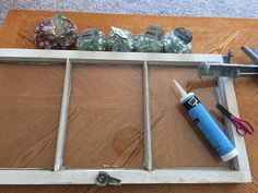 I decided to do another old window and decorate with dollar store beads. I am lucky enough to have 4 antique shops in my town. makes for easy picking of windo… Antique Windows, Old Windows, Vintage Windows, Window Art, Window Frames, Window Ideas, Door Ideas, The Doors, Old Window Projects