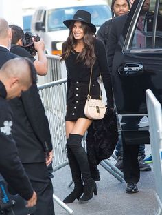 Victoria's Secret Model-Off-Duty Uniforms: Which Is More Your Style?