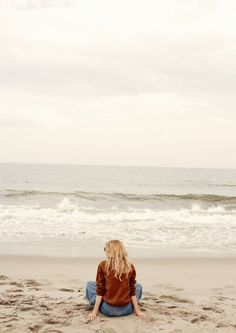 Élodie on the beach - Taken by Océane