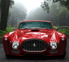I used to be into cars way more than I am now but that is a down right sick car!Ferrari F-340 Competizione...