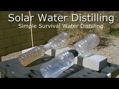 Simple Solar Water Distilling - Easy DIY (video) | reThinkSurvival.com