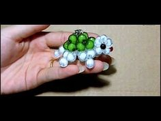 3D Beaded Turtle Ring Tutorial - YouTube