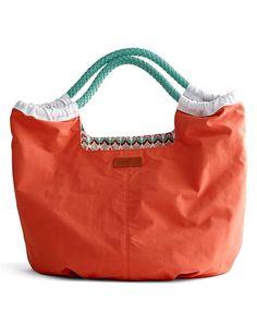 Coral Pacific Tote Handbag ♡