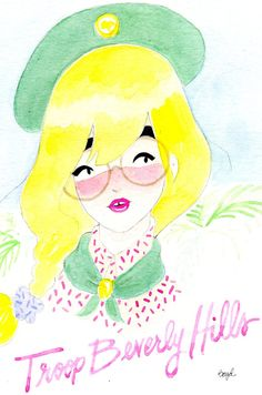 troop beverly hills print!