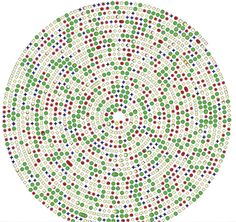 DNA Variants—The bioinformatics program used at the Medical College of Wisconsin for next-gen DNA sequencing reports genome variations in a visual format. Credit: Medical College of Wisconsin