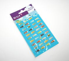 Stickers POISSONS Toga : Stickers, autocollants par boutique-creative-by-c-dona